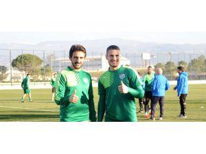 Bursapor'un yeni transferleri sahaya çıktı