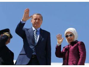 Cumhurbaşkanı Erdoğan Şili'den Ayrıldı