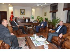 Boğazlayan Belediye Başkanı Erdal'dan Kayseri Şeker'e Teşekkür Ziyareti