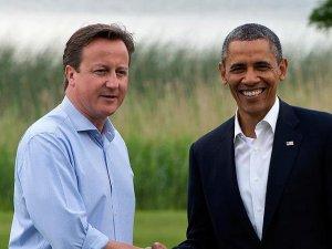 Obama Cameron ile telefonda Suriye meselesini görüştü