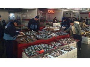 Beyşehir'de Balık Satan İşyerlerine Denetim