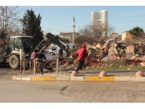 Ataşehir'de Yıkım