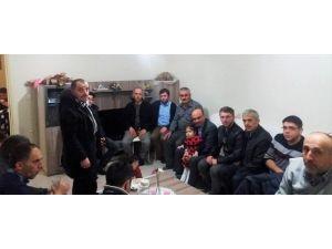 Başkan Metin Oral'dan Asker Adaylarına Ziyaret