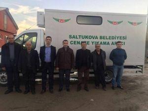 Saltukova Belediyesine Cenaze Nakil Ve Yıkama Aracı Hibe Edildi
