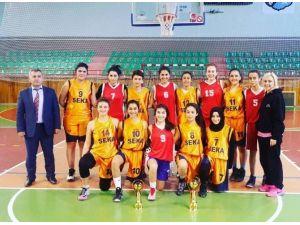 Genç Kızlar Basketbol Kulüp Maçları Tamamlandı