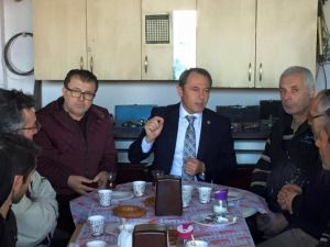 AK Parti Denizli Milletvekili Tin, Sanayi Esnafıyla Kahvaltı Yaptı