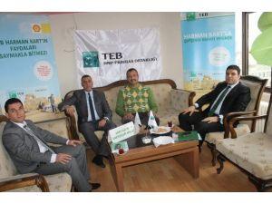 Siirt'teki Çiftçilere Tarımsal Desteklemeler Anlatıldı