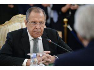 Lavrov: Türkiye-Suriye kaçakçılığı engellenmeden ateşkesin sağlanması zor