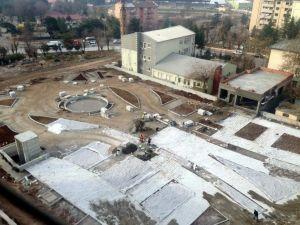 Siirt Meydan Projesi'ne Kış Molası