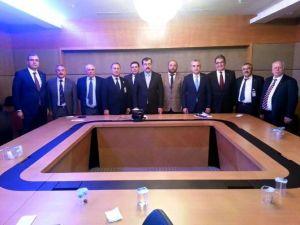 Söke STK Başkanları Ankara'ya Gitti