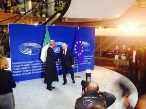 Nijerya Cumhurbaşkanı, Avrupa Parlamentosu'nda konuştu