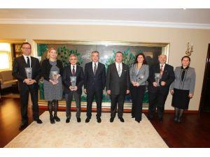 Gebze'nin Çevreci Firmaları Başkan Köşker'e Konuk Oldu