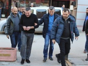 Eskişehir'de Silahla Yaralama Şüphelisi Adliyede