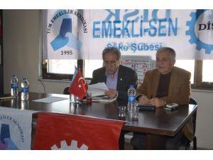 Emekli-sen Genel Başkanı Veli Beysülen'den Söke Ziyareti