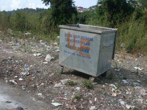 Alaplı'nın Köylerindeki Biriken Çöpler Toplanmaya Başlandı