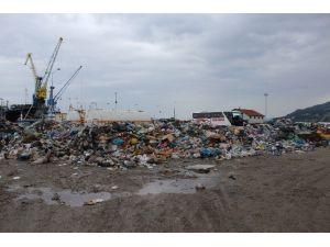 İnebolu Limanı Çöplüğe Döndü