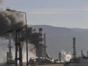 Tüpraş'ın Kocaeli Rafinerisinde yangın çıktı, evler boşaltıldı