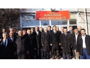 Milletvekili Arslan, Kağızman'da İncelemelerde Bulundu