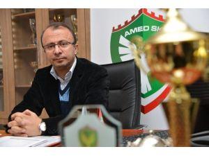 Amed Sportif Faaliyetler Kulübü'nden TFF'ye Adalet Çağrısı