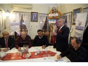 Erdemli Belediyesi Erkder'le İstanbul'da Buluştu