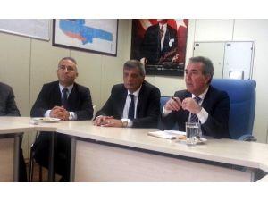 Ulaşım-sen Genel Başkanından Gaziantep Havalimanına Ziyaret