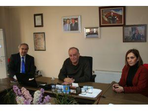MHP'den Usta'ya 'hayırlı olsun' ziyareti