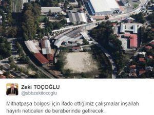 Başkan Zeki Toçoğlu Mithatpaşa'daki Dönüşüm Değerlendirdi