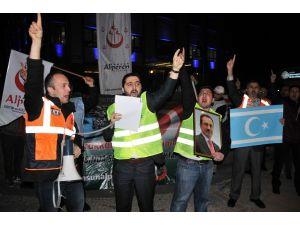 Alperen Ocakları'ndan hükümete Türkmendağı protestosu