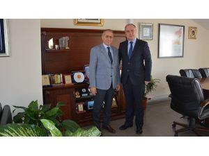Dr. Başa'dan Prof. Dr. Dodurka'ya Ziyaret
