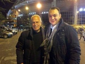 Mustafa Denizli, Lazıo - Napoli Maçında