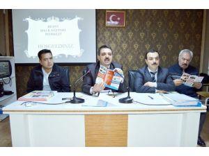 Besni Halk Eğitimi Merkezi Müdürlüğü Muhtarlarla Toplantı Yaptı