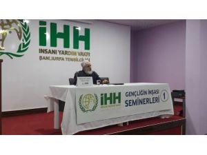 Şanlıurfa'da Gençliğin İnşası Semineri Düzenlendi