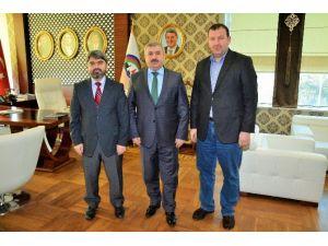 Başkan Baran, AK Parti Körfez Teşkilatını Ağırladı
