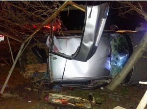 Sinop'ta Trafik Kazası: 1 Yaralı