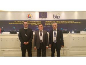 Hacısalihoğlu AB Türkiye İşbirliği Toplantısı'na Katıldı