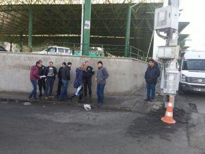 Emniyet ve Kara Harp Okulu yakınındaki mermiler polisi alarma geçirdi