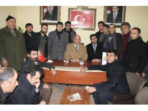 Milletvekili Mustafa Ilıcalı Tekman'da İncelemelerde Bulundu
