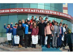 Erzurum Katırcı'nın Emanatlerini Ağırlıyor