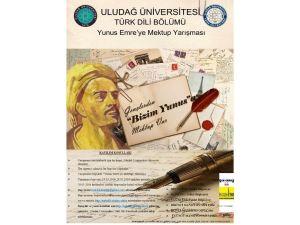 Üniversiteliler Yunus Emre'ye Mektup Yazacak