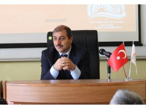 Elazığ'da Tıbbi Bitkiler Toplantısı Yapıldı