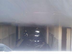 Siirt'te Eski Doğum Hastanesinde Üçüncü Yangın