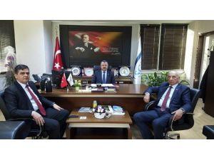 Başkan Yalçın'dan SGK İl Müdürü Ateş'e Ziyaret
