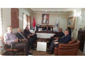 Milletvekili Eldemir'den Başkan Yalçın'a Ziyaret