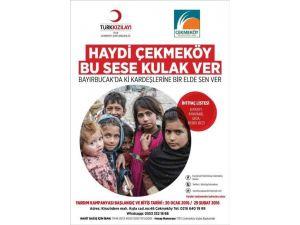 Çekmeköy'den Bayırbucak Türkmenlerine Yardım Kampanyası