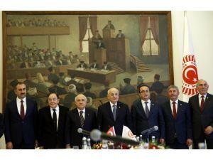 Meclis Anayasa Uzlaşma/Mutabakat Komisyonu'nun parti sözcüleri konuştu