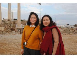 Çinli kız kardeşler Roma ve Bizans eserlerini araştırıyor