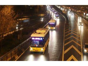 İETT İstanbul'da Gece Ulaşımı İçin Sefer Başlattı