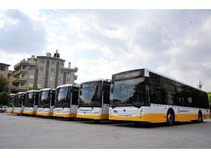 Karaman'da Yeni Halk Otobüsleri Seferlere Başladı