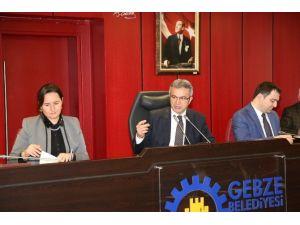 Gebze Belediyesi Şubat Meclisi Toplandı