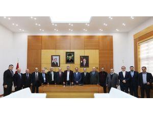 Başkan Toçoğlu Azerbaycan Devlet İktisat Üniversitesi Akademisyenlerini Ağırladı